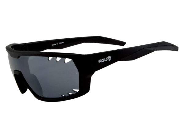 AGU Beam - Sports- og cykelbrille - Sort