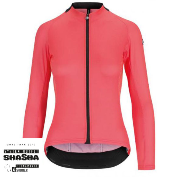 Assos Dame Cykeltrøje UMA GT Long Sleeve Jersey, Pink