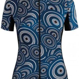 Assos Dame Cykeltrøje UMA GT Short Sleeve Jersey Camou, Blå