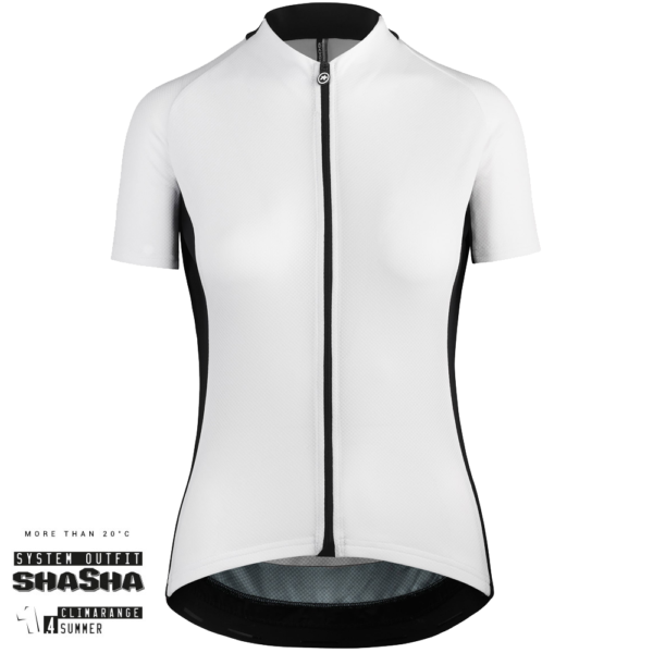 Assos Dame Cykeltrøje UMA GT Short Sleeve Jersey, Hvid