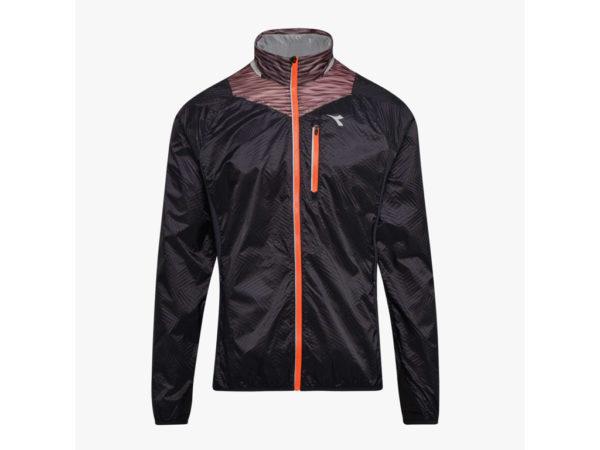 Diadora - Bright Jacket - Vindtæt løbejakke - Herre - Sort - Str. XL