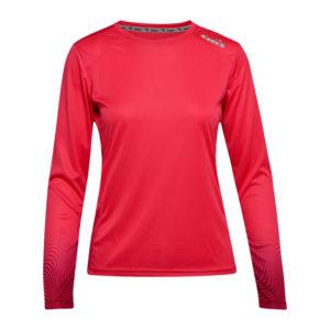 Diadora L. X-Run LS T-Shirt - Lange ærmer t-shirt - Dame - Rød - Str. M