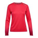 Diadora L. X-Run LS T-Shirt - Lange ærmer t-shirt - Dame - Rød - Str. XL