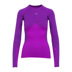 Diadora - L.LS T-shirt ACT - Basislag - Dame - Purple magnolia