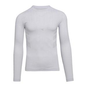 Diadora LS T-shirt ACT - Svedundertrøje Lange Ærmer - Herre - Hvid - Str. L/XL