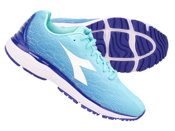 Diadora - Mythos Blushield Fly 2 - Dame - Str. 37 - Aqua Splash/Clematis Blue