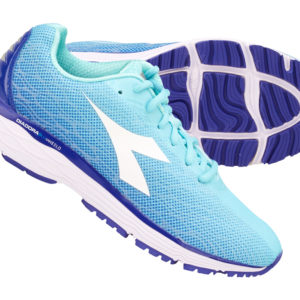 Diadora - Mythos Blushield Fly 2 - Dame - Str. 40,5 - Aqua Splash/Clematis Blue