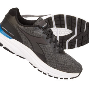 Diadora - Mythos Blushield HIP 4 - Hr. - Str. 44,5 - Steel grey/Sort