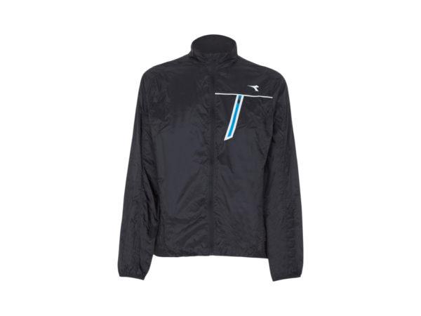 Diadora - STC Wind Jacket - Vindtæt løbejakke - Herre - Sort