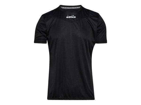 Diadora X-run SS T-shirt - Løbe t-shirt - Herre - Sort - Str. L
