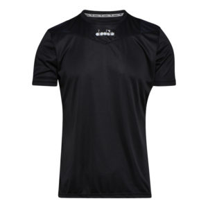 Diadora X-run SS T-shirt - Løbe t-shirt - Herre - Sort - Str. XXXL