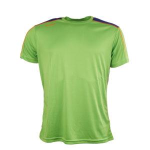 Diadora løbe t-shirt - Herre - Neongrøn/blå - Str. XL