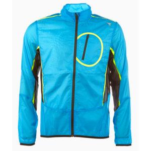 Diadora løbejakke - Herre - Wind Jacket - Blå - Str. L
