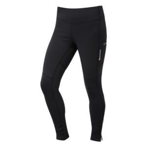Montane Womens Trail Series Thermal Tights - Løbetights vinter - Dame - Sort - Str. 36