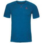 Odlo – Evolution light Blackcomb – Løbe t-shirt – Herre – Blå