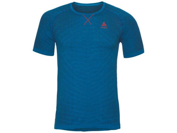 Odlo - Evolution light Blackcomb - Løbe t-shirt - Herre - Blå