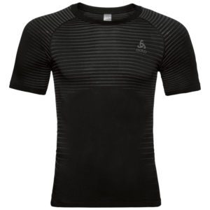 Odlo Performance Light - Sved t-shirt - Herre - Sort - Str. L