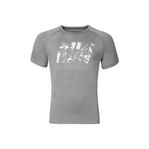 Odlo - Raptor - Løbe t-shirt - Herre - Grå melange - Str. XL