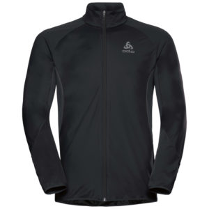 Odlo - Zeroweight Windproof Warm - Løbejakke - Herre - Sort