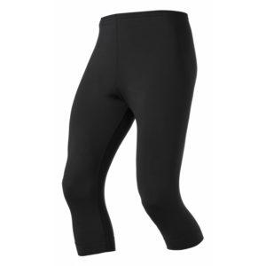 Odlo herre tights 3/4 - SLIQ ACTIVE RUN - Sort - Str. S
