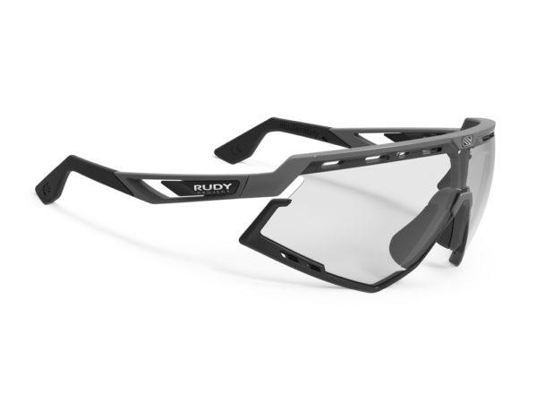 Rudy Project Defender - Løbe- og cykelbrille - Impactx Fotokromisk 2 - Pyombo-Sort