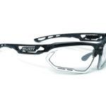 Rudy Project Fotonyk – Løbe- og cykelbrille – Impactx Fotokromisk 2 – Chrystal Grap/Hvid