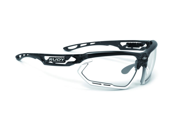 Rudy Project Fotonyk - Løbe- og cykelbrille - Impactx Fotokromisk 2 - Chrystal Grap/Hvid