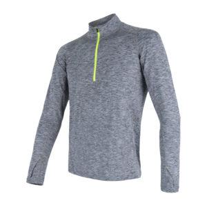 Sensor Motion - Langærmet t-shirt - Gråmeleret - Str. M
