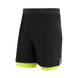 Sensor Trail - Løbeshorts med tights- Str. XL - Sort
