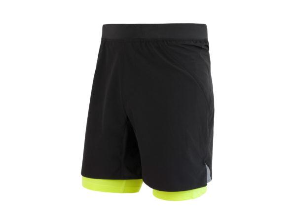 Sensor Trail - Løbeshorts med tights- Str. XL - Sort