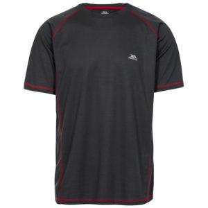 Trespass Albert - T-Shirt Quick Dry - Hr. Str. M - Carbon