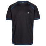 Trespass Albert - T-Shirt Quick Dry - Hr. Str. M - Sort