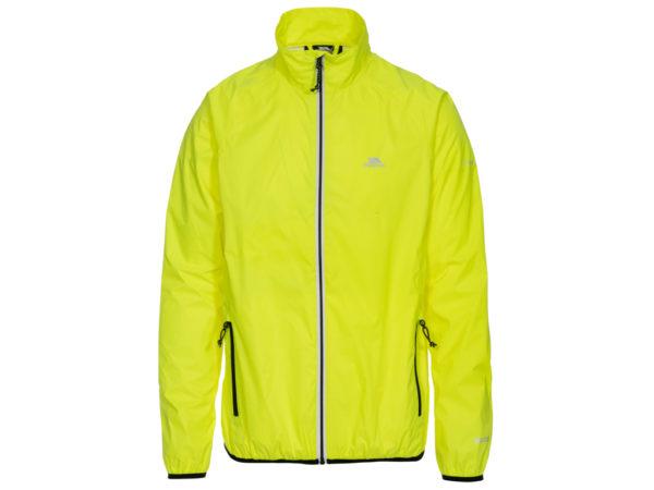 Trespass Retract - Packaway sports jakke - Str. M - Hi-vis gul