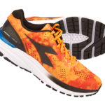 Diadora - Mythos Blushield 3 - Hr - Str. 44,5 - Orange/Sort