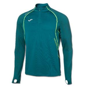Joma - Løbe sweatshirt - Herre - 1/2 Zip - Grøn - Str. S