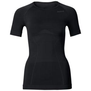 Odlo dame shirt - EVOLUTION LIGHT - Sort - Str. XL