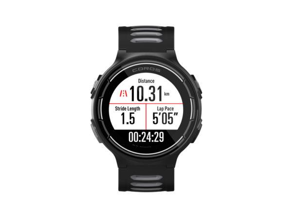 Coros - Pace - Sportsur med GPS - Sort