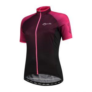 Rogelli Glow - Cykelbluse - Dame - Race Fit - Bordeaux/Pink - Str. XS