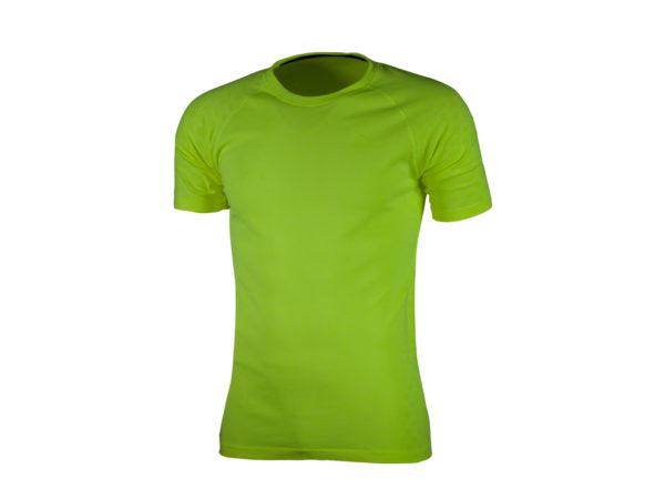 Rogelli Seamless - Sports t-shirt - Gul - Str. M