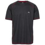 Trespass Albert - T-Shirt Quick Dry - Hr. Str. S - Carbon
