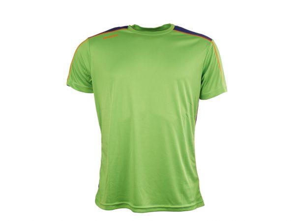 Diadora løbe t-shirt - Herre - Neongrøn/blå - Str. L