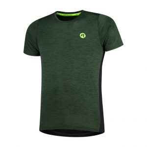 Rogelli Matrix - Sports t-shirt - Grøn/Sort - Str. S