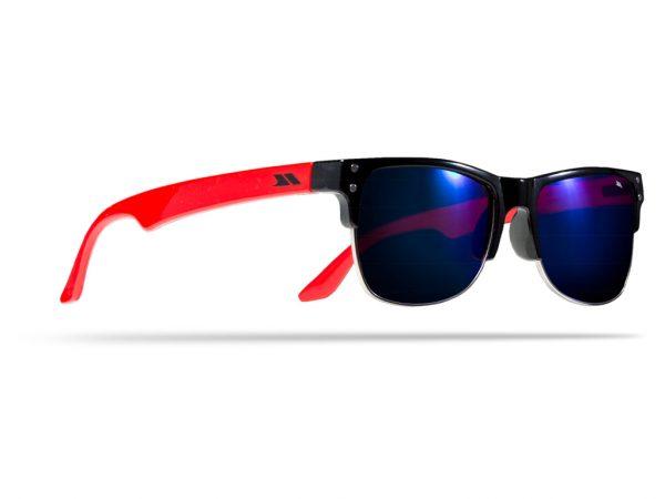 Trespass Esteban - Børnesolbriller - Sort/rød