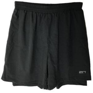 2117 OF SWEDEN Halna - Trail løbeshorts - Sort - Str. 3XL