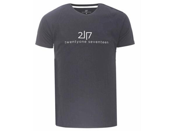 2117 OF SWEDEN Tun - Løbe T-Shirt - Mørk grå - Str. L
