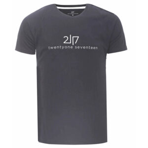 2117 OF SWEDEN Tun - Løbe T-Shirt - Mørk grå - Str. XL