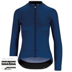 Assos Dame Cykeltrøje UMA GT Long Sleeve Jersey, Blå