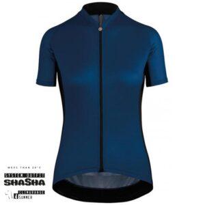 Assos Dame Cykeltrøje UMA GT Short Sleeve Jersey, Blå