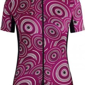 Assos Dame Cykeltrøje UMA GT Short Sleeve Jersey Camou, Lilla