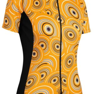 Assos Dame Cykeltrøje UMA GT Short Sleeve Jersey Camou, gul